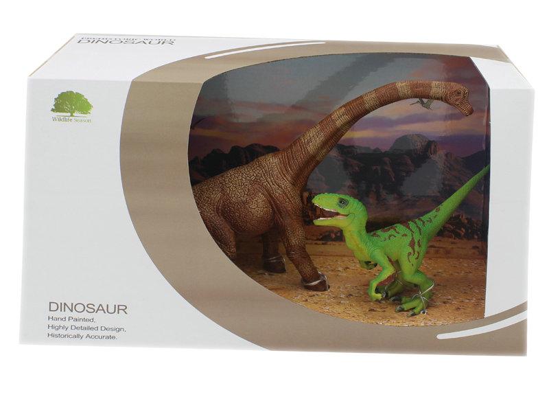 Dinosaur set toy animal toy 2pcs dinosaur for kids