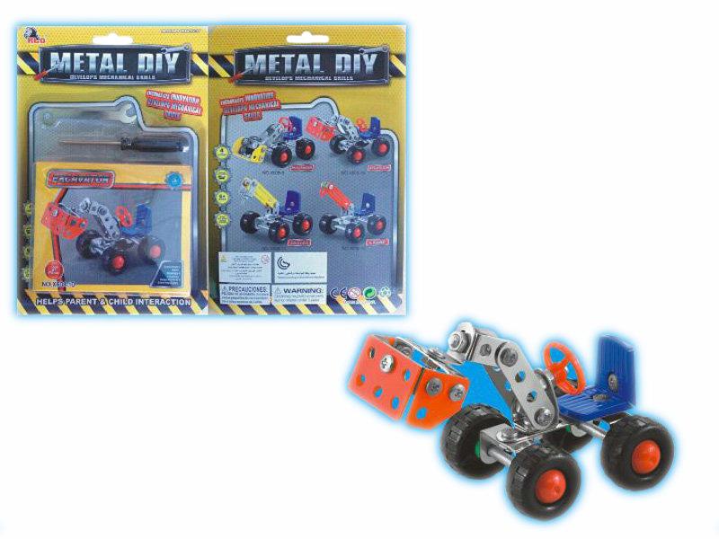 Metal building blocks education toy block toy