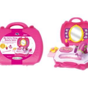 Cosmetic set pretending toy girl beauty set