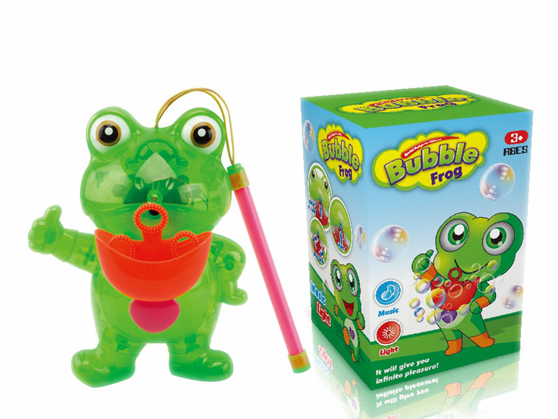 Bubble lantern toy B/O frog bubble toy bubble lantern with light and ...
