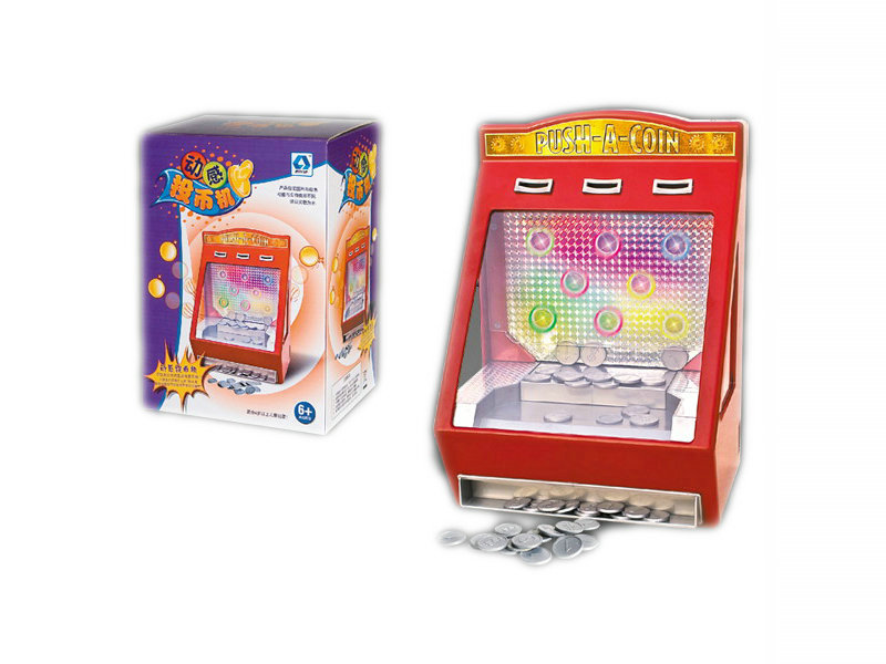 Coin pusher toy funny game toy machine toy