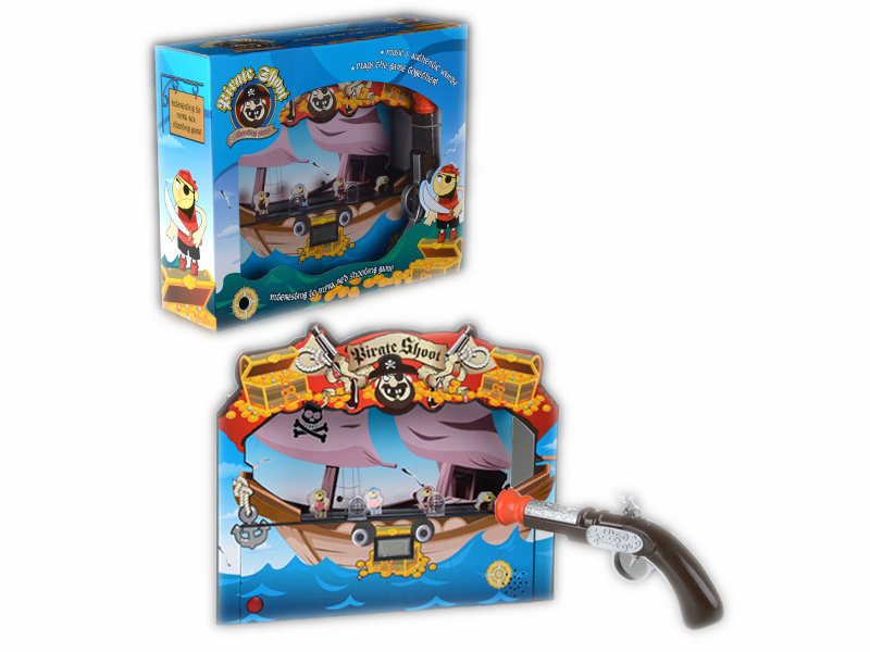 Shoot pirate toy shooting game toy funny game toy