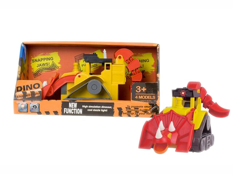 Bulldozer toy engineering toy dinasour bulldozer toy