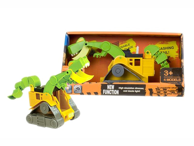 Engineering loader toy dinasour loader toy plastic truck toy