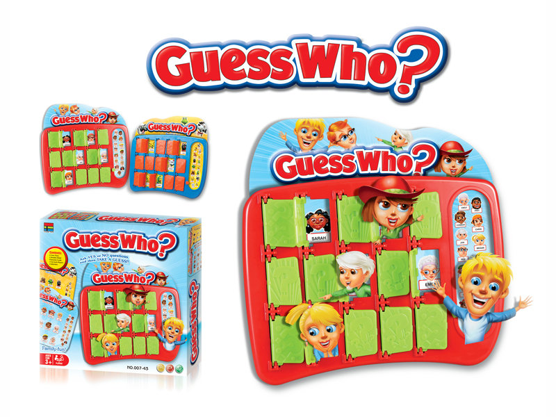 Guess who game toy small game toy intelligence game