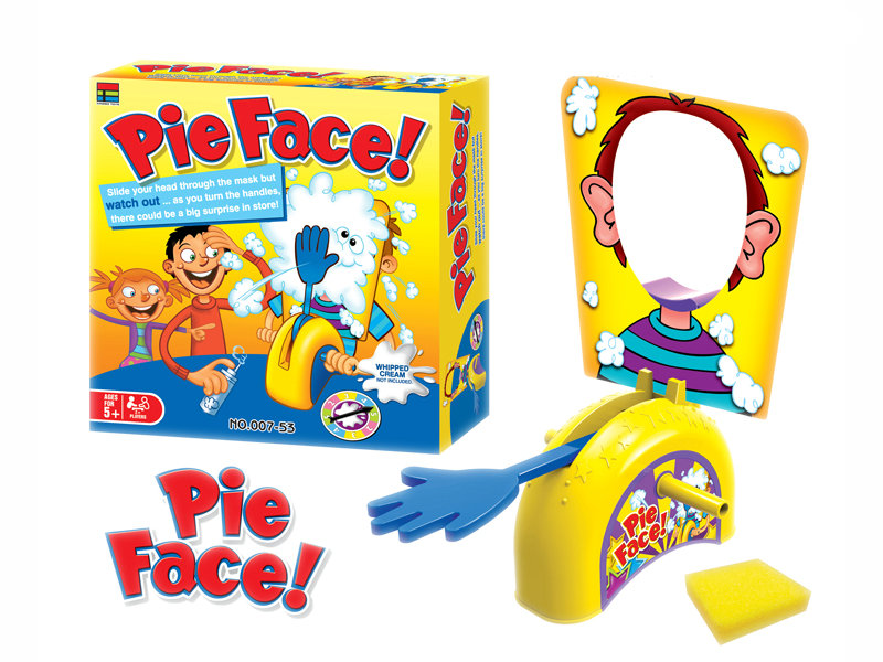 Pie face game funny toy table game toy for kid