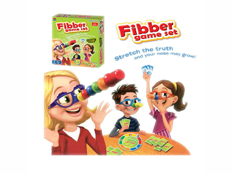 Fibber game small game toy intelligence game