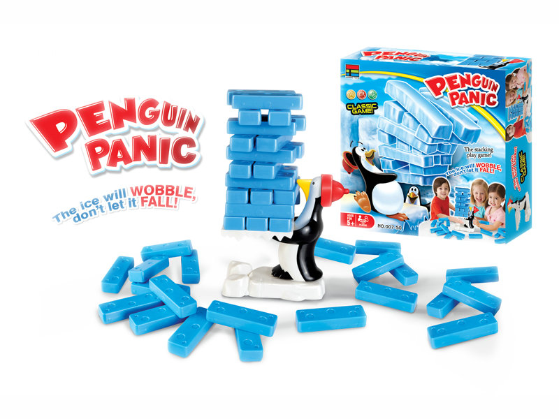 Penguin panic game toy intelligence game small game toy