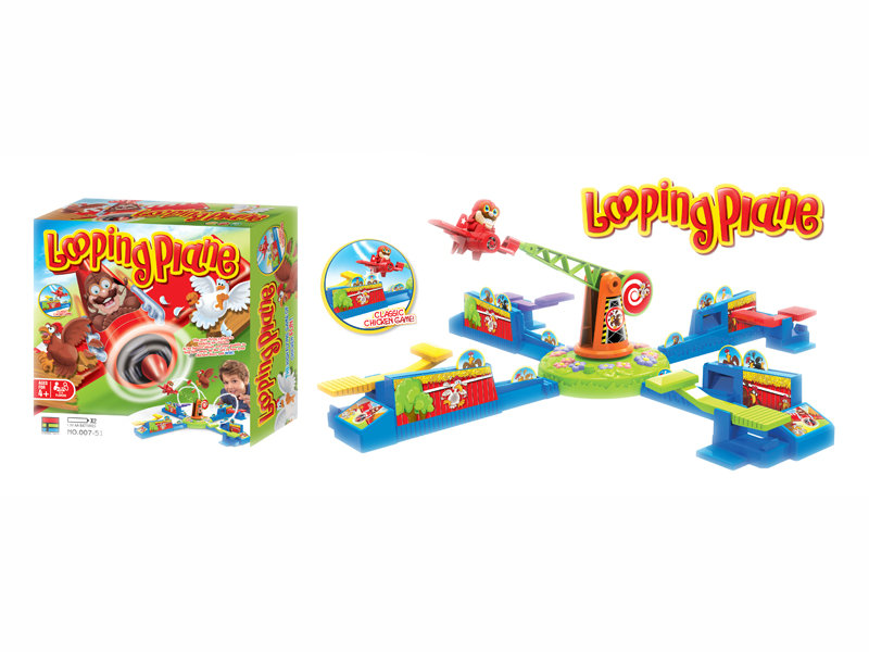 Looping plane toy game toy funny toy for kids