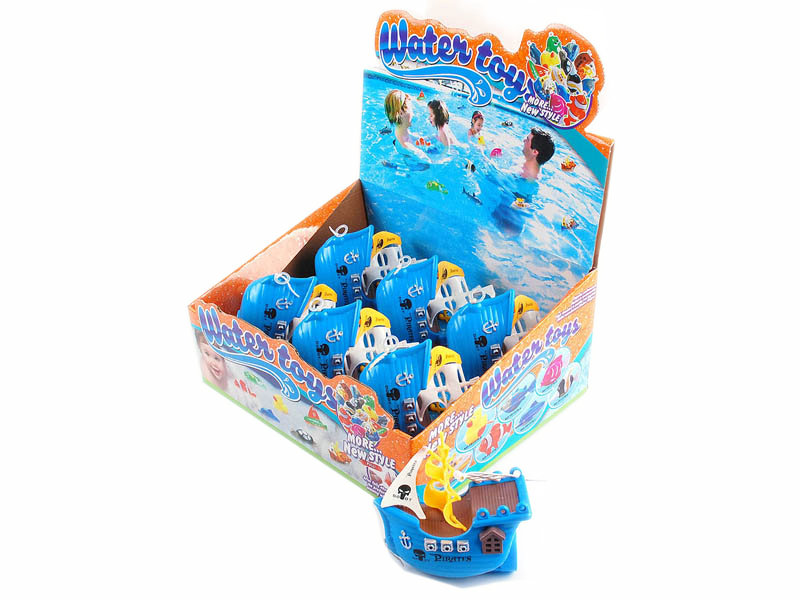Pull line toy swimming toy corsair toy for kids