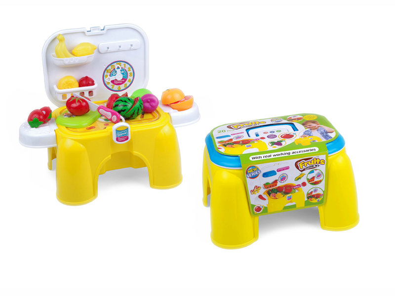 Fruit chair storage toy pretend playset toy funny toy