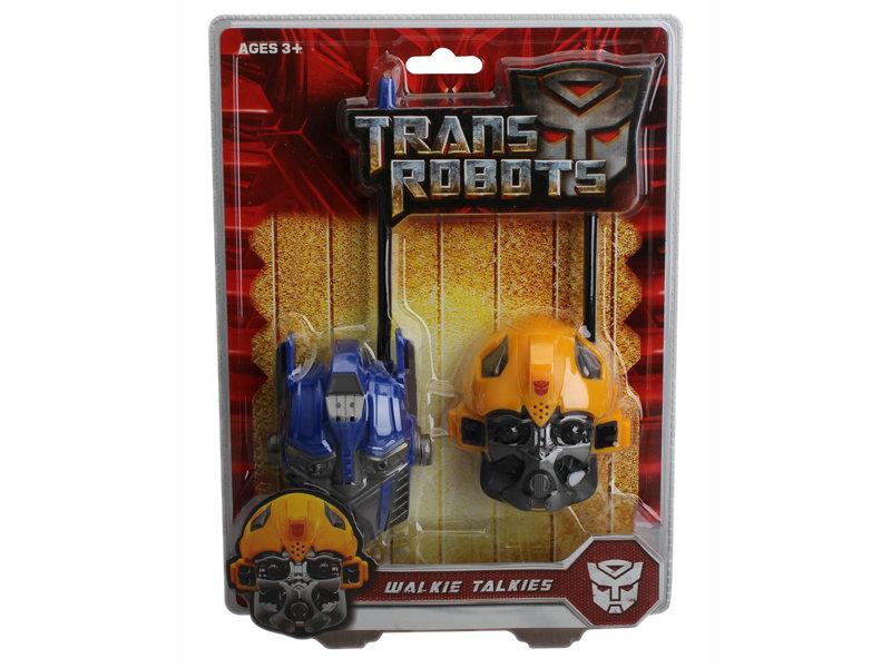 Plastic walkie talkie role play toy cartoon interphone toy