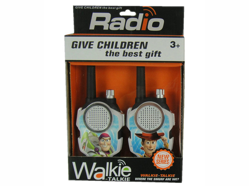 Cartoon interphone toy walkie talkie toy role play toy