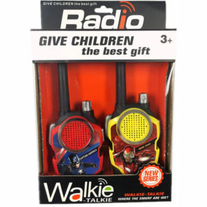 Role play toy walkie talkie toy cartoon interphone toy