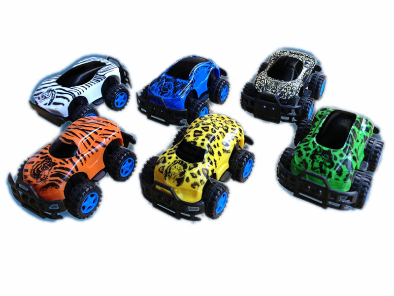 pull back car animal car cross country car toy