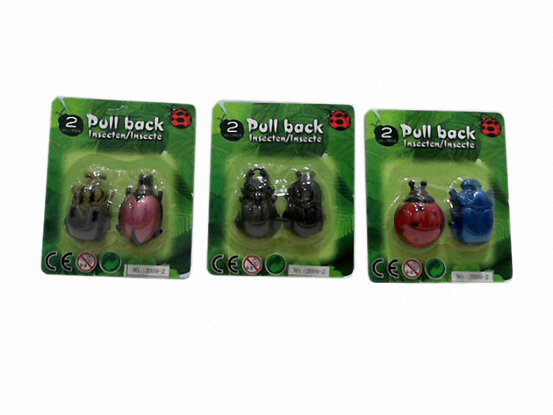 Pull back toy beetle toy animal toy