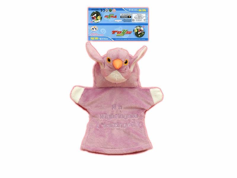 9inch animal glove cartoon toy stuffed glove