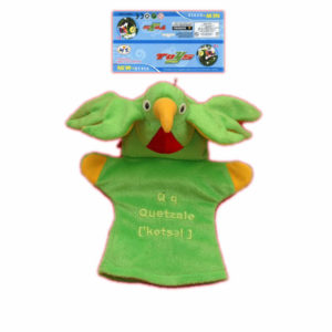 Quetzal glove toy 9inch animal glove cartoon toy