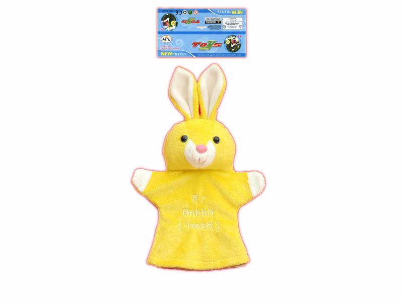 Rabbit glove toy 9inch animal glove cartoon toy