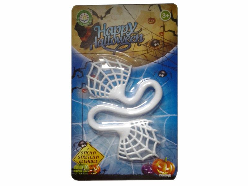 TPR toy sticky spider web funny toy