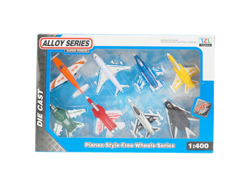 Plane set metal toy vehicle toy