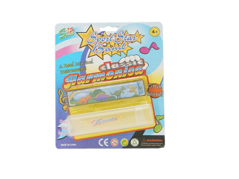 Harmonica instrument toy cartoon toy
