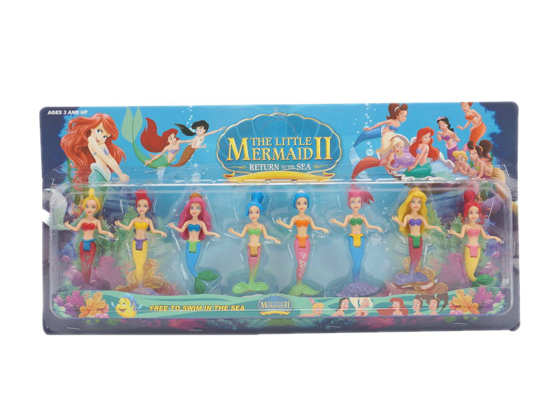 Mermaid figure mini toys funny toy