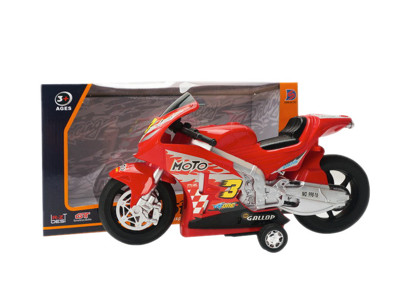 Motorcycle toy friction power toy vehicle toy
