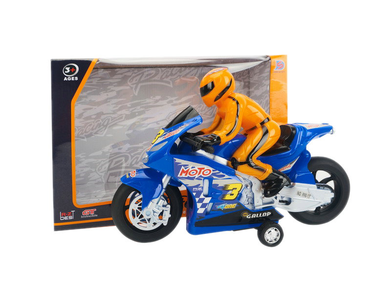 Friction vehicle motorcycle toy racing car