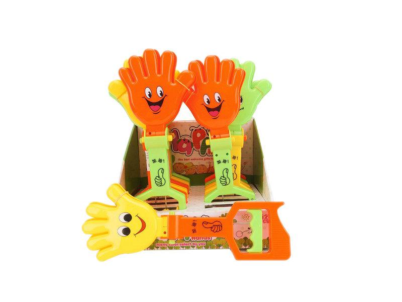 Hand beat toy robot machine cute toy