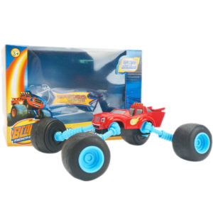 Transformation car metal car cute toy