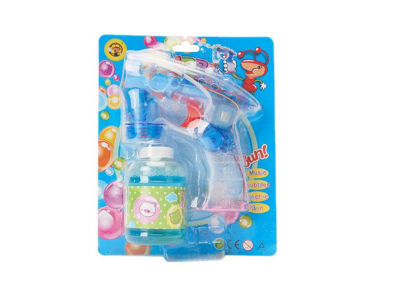 Bubble gun lighting toy summer toy