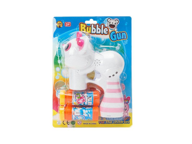 Bubble gun toy monkey toy outdoor toy