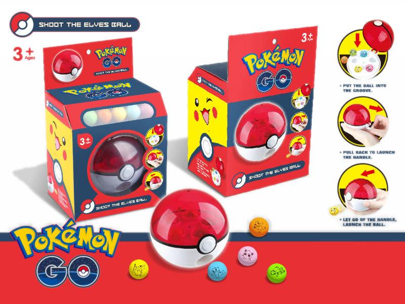 Shooting ball pokemon toy promotion toy