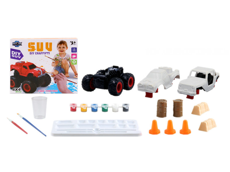 Monster truck DIY toy educational toy