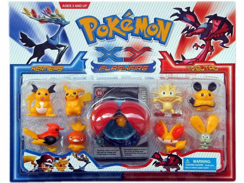 Pokemon figure toy funny toy promotion toy