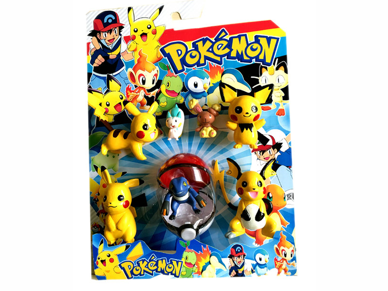 Elfin toy promotion toy pokemon figure