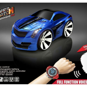 Voice control car cute vehicle funny toy with watch