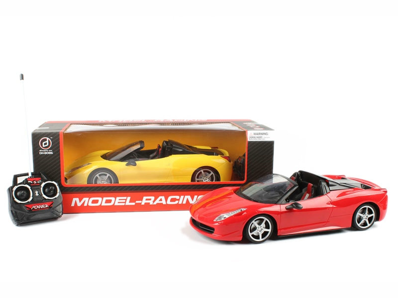 Open car toy four channel car vehicle toy