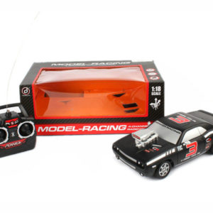 Black racing car vehicle toy remove control toy
