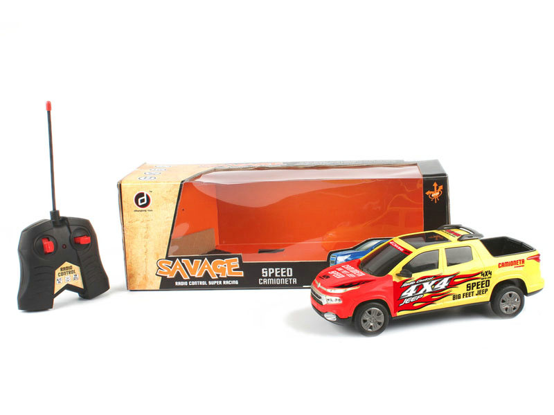 Colorful car toy vehicle remove control toy