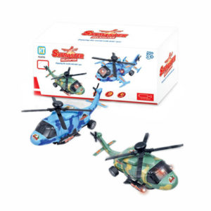 Helicopter toy vehicle toy lighting toy with music