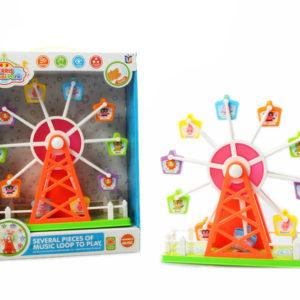 Ferris wheel toy battery option toy sound control toy