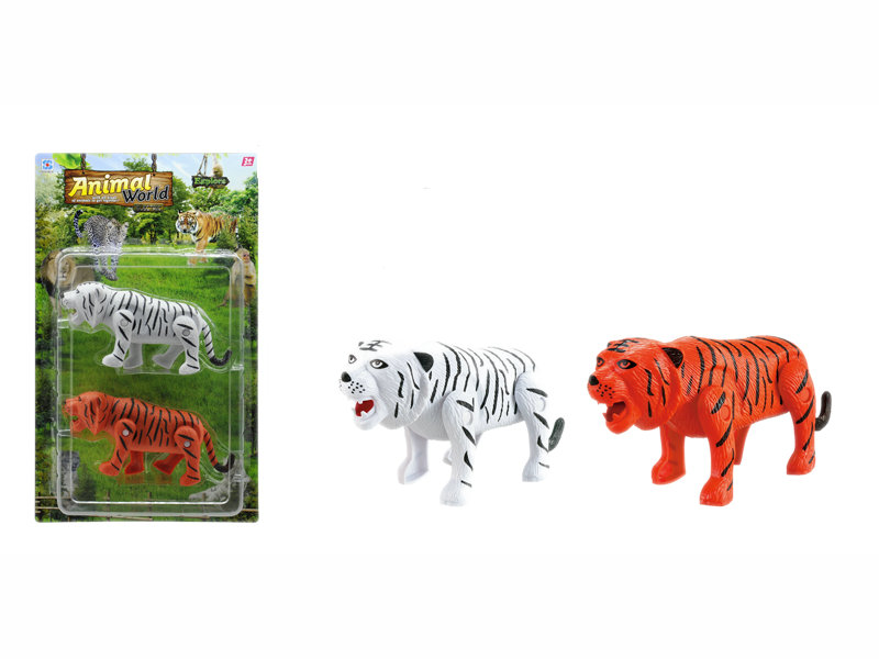 Tiger toy battery option toy animal toy