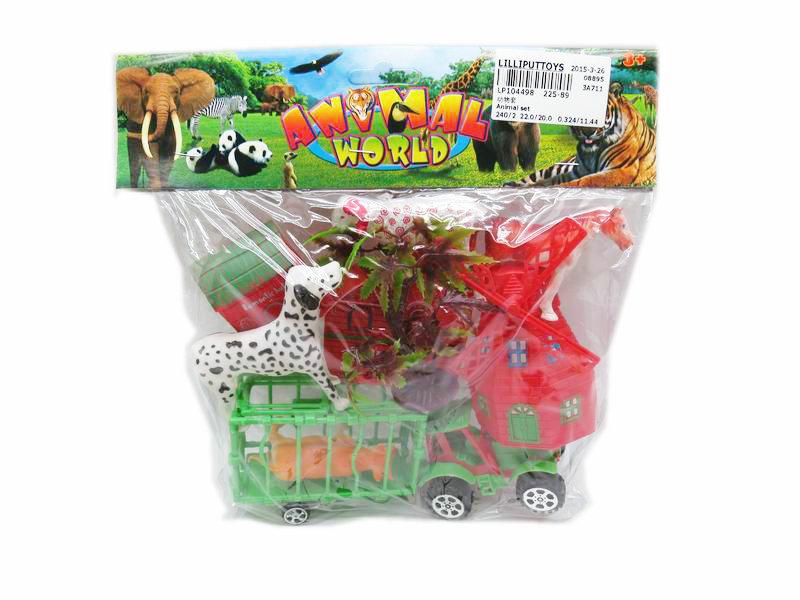 Animal car toy model?toy figure animal world