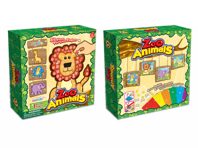 Puzzle game toy animal puzzle funny game toy