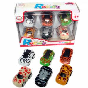 Animal skin car toy pull back car small car toy