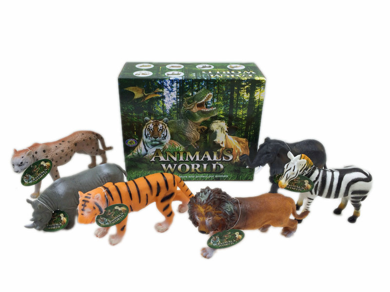 Soft animal toy animal set toy figurines toy
