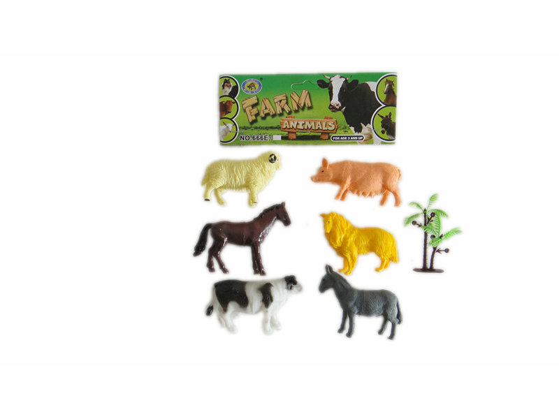Farm animals toy animal figurines toy animal world