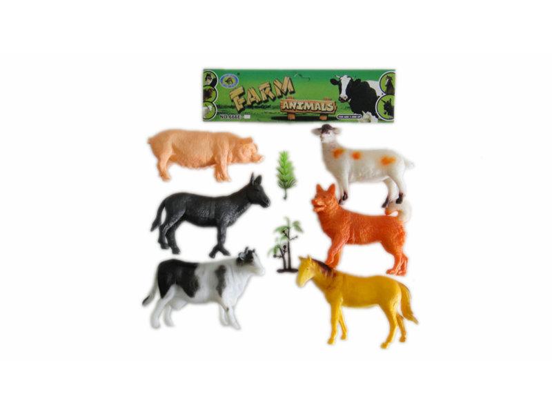 Farm animals toy animal figurines toy animal world